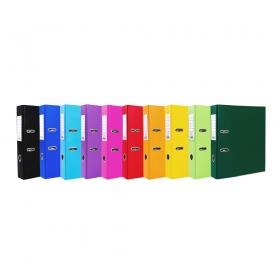 """Папка регистратор А4, ПВХ, 75 мм. фиолетовый  """"OfficeStyle"""",  Эко, с уголком 1144793"""