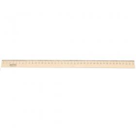 Линейка деревянная (Л-4268) 40 см