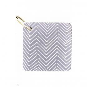 Блокнот для записей на кольце SIMPLICITY, размер 7 х 7 см, 60 листов, нелинованный бумажный блок,  п