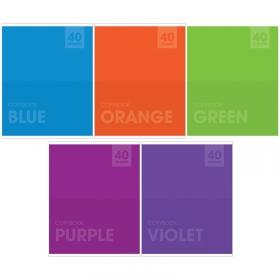 """Тетрадь 40л., А5, клетка ArtSpace """"Моноколор. Яркие цвета"""" Т40к_13641"""