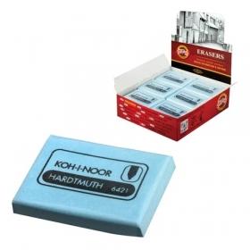 Ластик-клячка KOH-I-NOOR, 47x36x10 мм, голубой, прямоугольный, мягкий, натуральный каучук, 225387