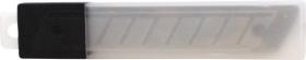 Лезвия для канцелярских ножей 9 мм, 10 шт в пластиковом пенале BLCUT9_1367/ 178795