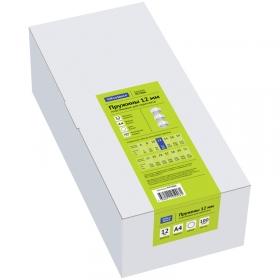 Пружины пластик D=12мм OfficeSpace, белый, 100шт. PC7006