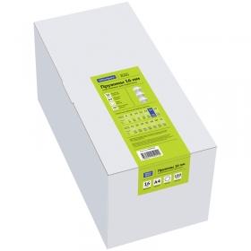 Пружины пластик D=16мм OfficeSpace, белый, 100шт. PC7012