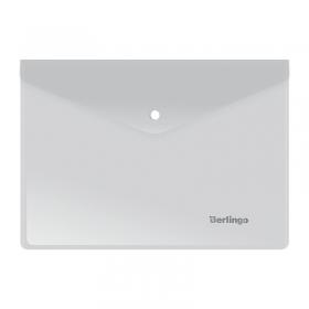 Папка-конверт на кнопке A5, 180мкм, матовая OBk_05006