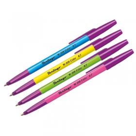 """Ручка шар. синяя Berlingo """"W-219 Color"""", 0,7мм, ассорти CBp_70912"""