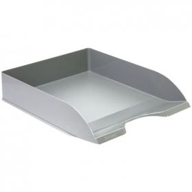 """Лоток для бумаг горизонтальный  Стамм """"Дельта"""",  серый ЛТ650"""