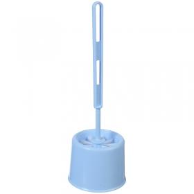 """Ерш для унитаза Idea """"Эконом"""" с подставкой, 12*17см, пластик, голубой М 5016"""