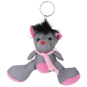 Светоотражающий брелок-игрушка мышка DV-4614