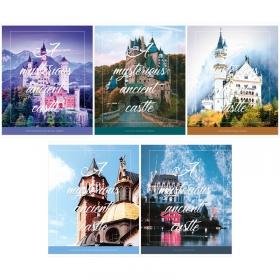 "Тетрадь 96л., А5, клетка ArtSpace ""Путешествия. Mysterious castle"" Т96к_25005"