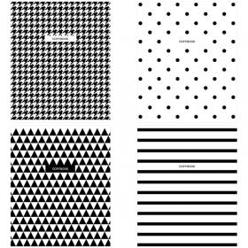 "Тетрадь 96л., А5, клетка ArtSpace ""Узоры. BW Pattern"" Т96к_29824"