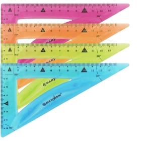 "Треугольник 90гр*60гр*30гр мягкий пластик ""Darvish"" DV-7264"