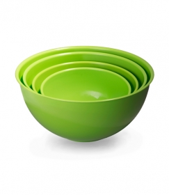 Набор мисок универсальных 4 шт. (2л, 3л, 5л, 7л) зеленый МК12