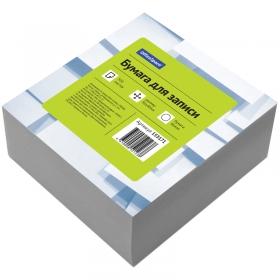 Блок для записи OfficeSpace, 9*9*4,5см, белый 153171