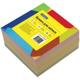 Блок для записи 9*9*4,5 см, цветной 153175