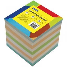 Блок для записи 9*9*9 см, цветной КБ9-10 Цн/162002