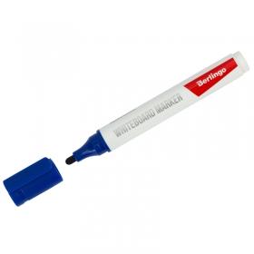 Маркер для белых досок Berlingo синий, пулевидный, 2мм PM6313