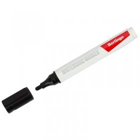 Маркер для белых досок Berlingo черный, пулевидный, 2мм PM6314