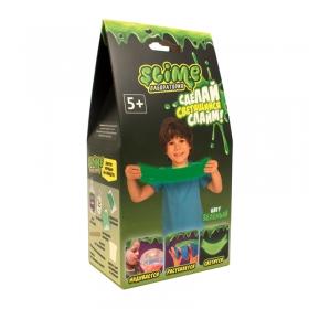 """Набор для создания слайма Slime """"Лаборатория"""", для мальчиков, зеленый, 100г SS100-4"""
