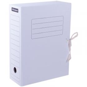 Папка архивная из микрогофрокартона OfficeSpace с завязками, ширина корешка 100мм, белый, до 900л. 2