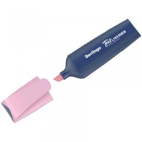 """Текстовыделитель Berlingo """"HP200"""", пастельный цвет, фламинго, 1-5мм T5019"""
