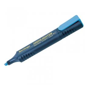 Текстовыделитель Berlingo голубой, 1-5мм T7015