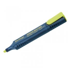 Текстовыделитель Berlingo желтый, 1-5мм T7017