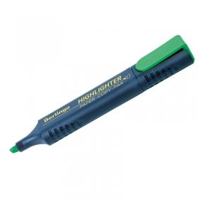 Текстовыделитель Berlingo зеленый, 1-5мм T7016