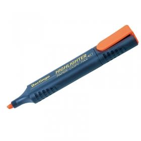Текстовыделитель Berlingo оранжевый, 1-5мм T7018