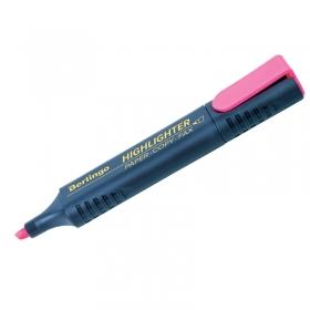 Текстовыделитель Berlingo розовый, 1-5мм T7019