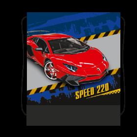 Сумка для сменной обуви цветная с рисунком 420/340 (RED CAR), СДС-3