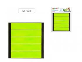 Набор наклеек светоотражающих ПОЛОСКИ, 5 шт. M-7203