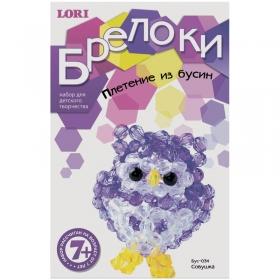 """Брелоки - плетение из бусин """"Совушка"""" Бус-034"""