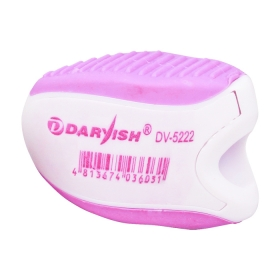 """Точилка пласт. """"Darvish"""" ассорти с ластиком в пластиковой банке DV-5222"""