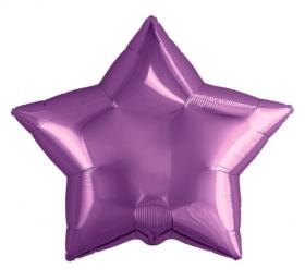 Шар Agura Звезда пурпур (21/53 см., 1 шт.) Т-0777 цена за 1шт
