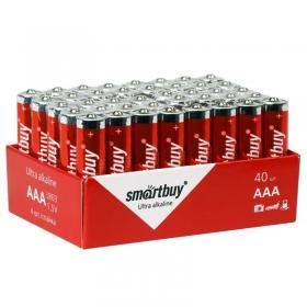 Батарейка SmartBuy AAA (LR03) алкалиновая, OS40 SBBA-3A40S