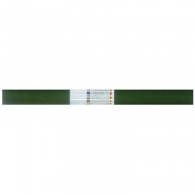 Бумага крепированная Werola, 50*250см, 32г/м2, растяжение 55%, болотная, в рулоне 12061-116