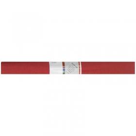 Бумага крепированная Werola, 50*250см, 32г/м2, растяжение 55%, рубиновая, в рулоне 12061-135