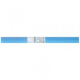 Бумага крепированная Werola, 50*250см, 32г/м2, растяжение 55%, светло-голубая, в рулоне 12061-120