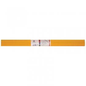 Бумага крепированная Werola, 50*250см, 32г/м2, растяжение 55%, светло-оранжевая, в рулоне 12061-107