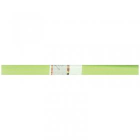 Бумага крепированная Werola, 50*250см, 32г/м2, растяжение 55%, светло-салатовая, в рулоне 12061-145