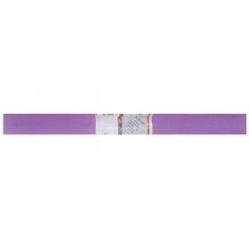 Бумага крепированная Werola, 50*250см, 32г/м2, растяжение 55%, сиреневая, в рулоне 12061-155