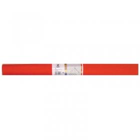 Бумага крепированная Werola, 50*250см, 32г/м2, растяжение 55%, темно-оранжевая, в рулоне 12061-108