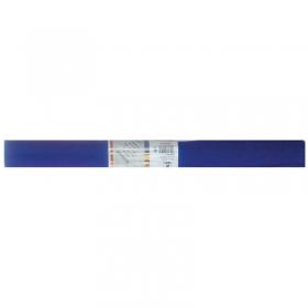 Бумага крепированная Werola, 50*250см, 32г/м2, растяжение 55%, темно-синяя, в рулоне 12061-118