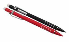 Карандаш механический  (К-3936),d=0,5 mm, покрытие Soft Touch, с ластиком, с грипом,кратно 24