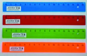 Линейки 16 см. ЦВЕТНОЕ, ПРОЗРАЧНОЕ АССОРТИ (Л-9284), кратно 20