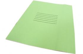 Тетрадь 12 листов линия зеленая (без слова тетрадь) 12-5749)