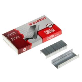 Скобы №24/6 для степлера 500 шт. С24/6-500