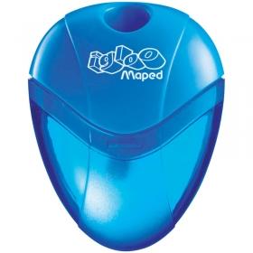 """Точилка пластиковая """"I-Gloo"""" 1 отверстие, контейнер, ассорти 534754"""
