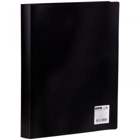 Папка с 60 вкладышами OfficeSpace, 21мм, 400мкм, черная F60L1_295